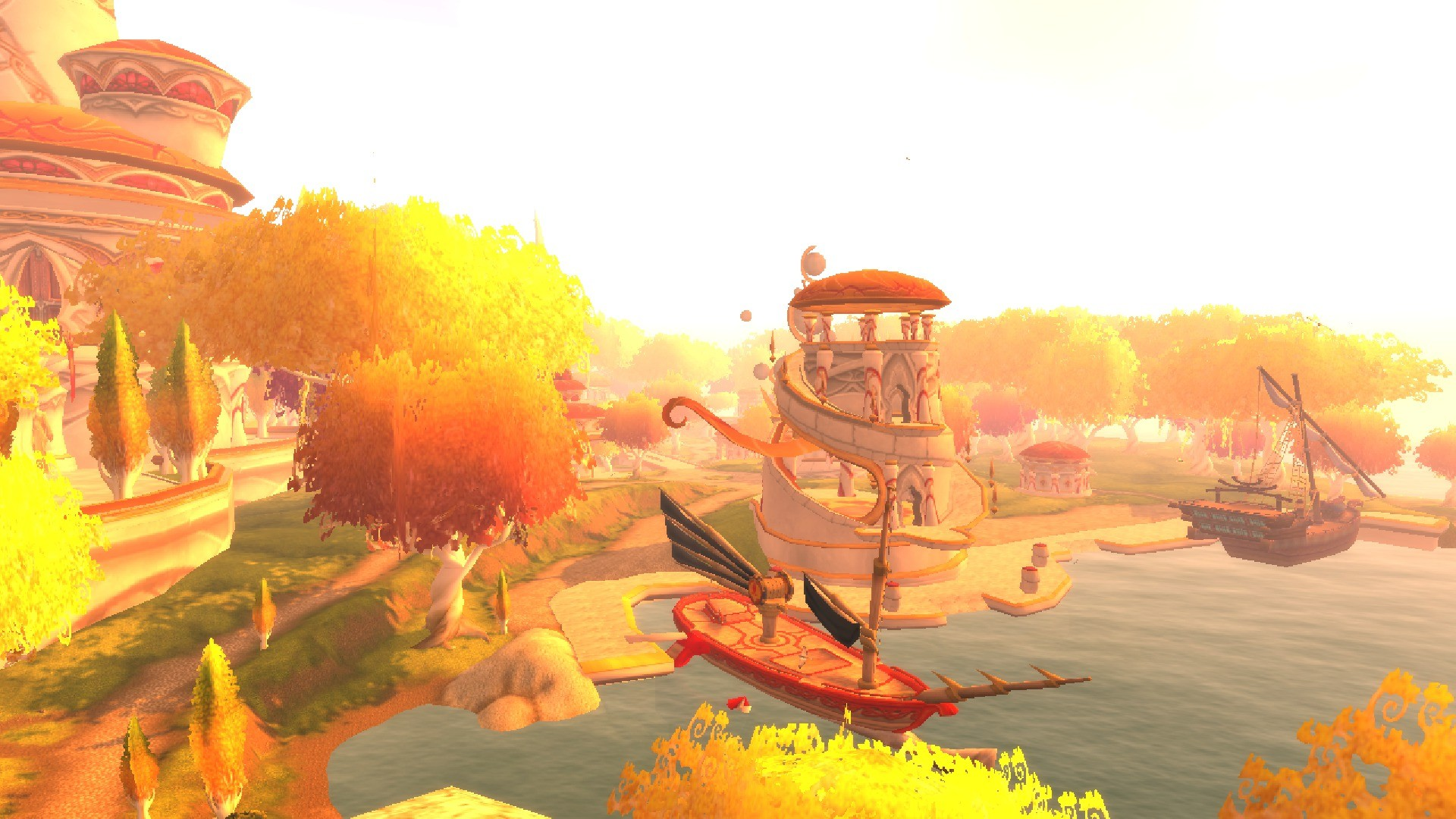 "alt=""world of warcraft story so far isle of queldanas scenery""/>"