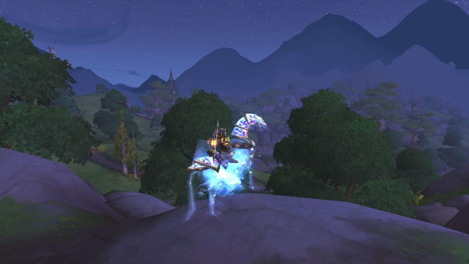 "alt=""Delyshia enjoying the view of Stormsong Valley""/>"