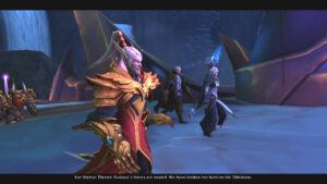 "alt=""horde and alliance leaders united agaisnt Queen Azshara""/>"