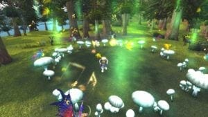 """alt=""""classic wow pre-launch test whispering forest""""/>"""