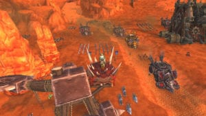 """alt=""""N'Zoth's Ending And Ny'alotha Raid - troops waiting outside of Orgrimmar during war campaign""""/>"""