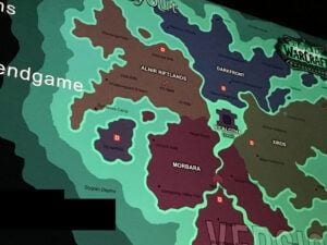 "alt=""possible world of warcraft expansion leaks - leaked photograph of Shadowlands map""/>"